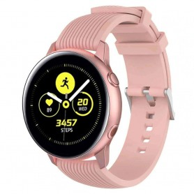 Sport Armband RIB Samsung Galaxy Watch Active - Gammelrosa