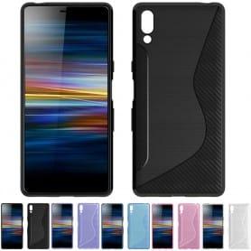 S Line silikon skal Sony Xperia L3 (I4312) mobilskal