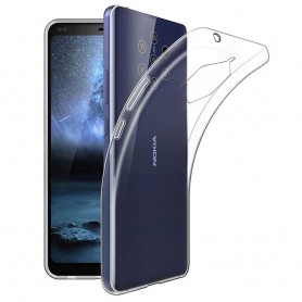 Silikon skal transparent Nokia 9 PureView (TA-1094)