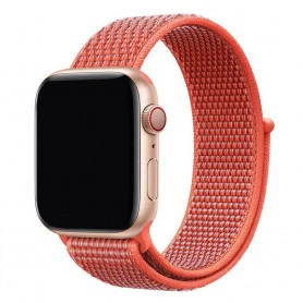 Apple Watch 42mm Nylon Armband - Nectarine