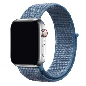 Apple Watch 42mm Nylon Armband - Cape Cod Blue
