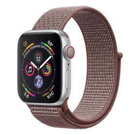 Apple Watch 4 (44mm) Nylon Armband - Smokey Mauve