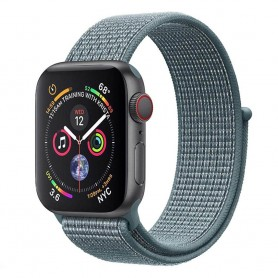 Apple Watch 4 (44mm) Nylon Armband - Celestial Teal