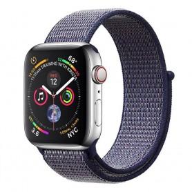 Apple Watch 4 (40mm) Nylon Armband - Midnight Blue