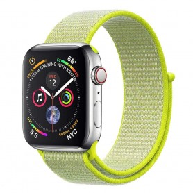 Apple Watch 4 (40mm) Nylon Armband - Flash Light