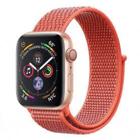 Apple Watch 4 (40mm) Nylon Armband - Nectarine
