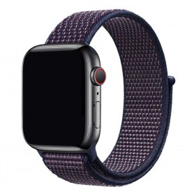 Apple Watch 42mm Nylon Armband - Indigo