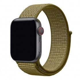 Apple Watch 42mm Nylon Armband - Olive Flak