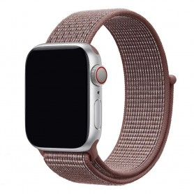 Apple Watch 42mm Nylon Armband - Smokey Mauve