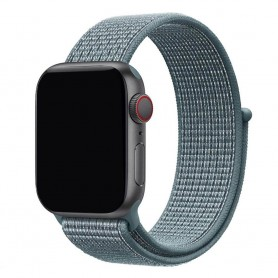 Apple Watch 42mm Nylon Armband - Celestial Teal