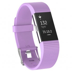 Sport Armband till Fitbit Charge 2 - Violet