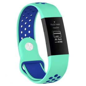 EBN Sport Armband Fitbit Charge 3 - Mint/blå
