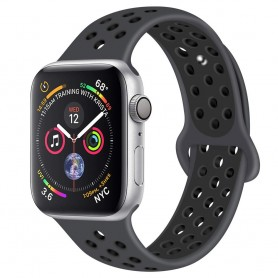 EBN Sport Armband Apple Watch 4 (44) - Carbon/black