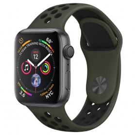 EBN Sport Armband Apple Watch 4 (44) - Olive/black