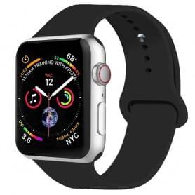 Apple-Watch-4-(44mm)-Sport-armband-Silikon-Svart-caseonline