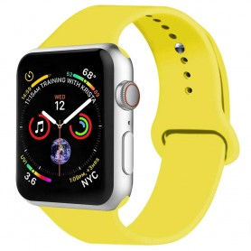 Apple Watch 4 (44mm) Sportband silikon-Gul