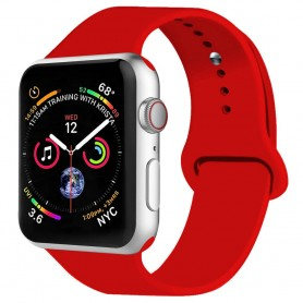 Apple Watch 4 (44mm) Sport Armband silikon - Röd