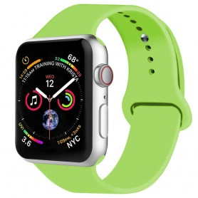 Apple Watch 4 (44mm) Sport Armband silikon - Grön