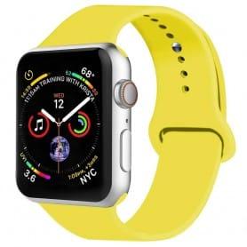 Apple Watch 4 (40mm) Silikon Sport Armband - Gul