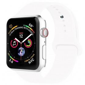 Apple Watch 4 (40mm) silikon Sport Armband - Vit