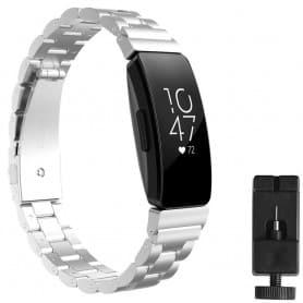 Armband rostfritt stål FITBIT Inspire / Inspire HR - Silver