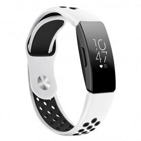 EBN Sport Armband FITBIT Inspire / Inspire HR - Vit/svart