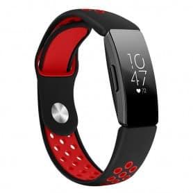 EBN Sport Armband FITBIT Inspire / Inspire HR - Svart/röd