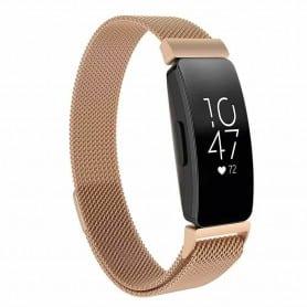 Milanese Magnetiskt Armband FITBIT Inspire / Inspire HR - Guld