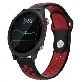EBN Sport Armband GARMIN Forerunner 245/245M - Svart/röd