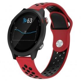 EBN Sport Armband GARMIN Forerunner 245/245M - Röd/svart