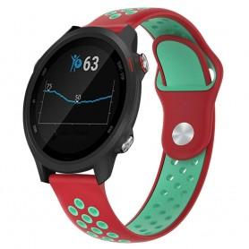 EBN Sport Armband GARMIN Forerunner 245/245M - Röd/mint