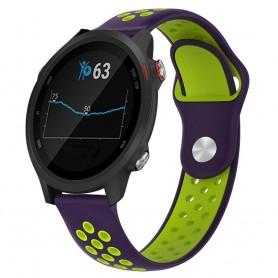 EBN Sport Armband GARMIN Forerunner 245/245M - Lila/grön
