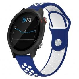EBN Sport Armband GARMIN Forerunner 245/245M - Blå/vit