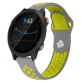 EBN Sport Armband GARMIN Forerunner 245/245M - Grå/gul