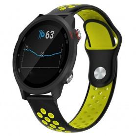 EBN Sport Armband GARMIN Forerunner 245/245M - Svart/gul
