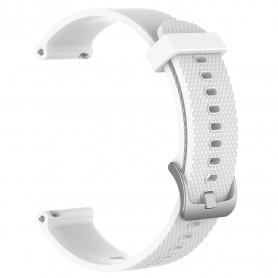 Sport Armband silikon GARMIN Forerunner 245/245M - Vit
