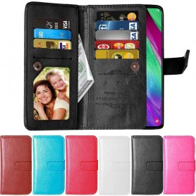 Dubbelflip Flexi 9-kort Samsung Galaxy A40 (SM-A405F)