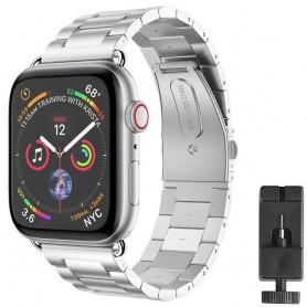 Armband rostfritt stål Apple Watch 4 (44mm) - Silver