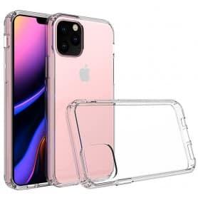 Mobilskal Clear Hard Case Apple iPhone XI Max 2019 transparent genomskinling skal skydd cover