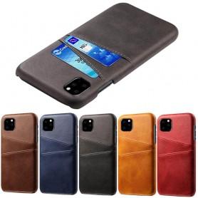 "Retro mobilskal med kortplatser Apple iPhone XI 5.8"" 2019"