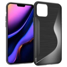 "Mobilskal S-Line silikon skal Apple iPhone 5.8"" (2019) - Svart"