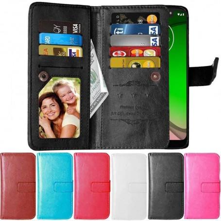 Dubbelflip Flexi 9 kort Motorola Moto G7 Power (XT1955)