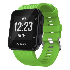 Sport Armband Silikon GARMIN Forerunner 35 - Grön