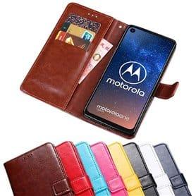Mobilplånbok 3-kort Motorola One Vision (XT1970)