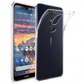 Silikon skal transparent Nokia 4.2 (TA-1184)