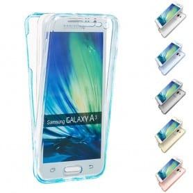 360 heltäckande silikon skal Samsung Galaxy A3 2015 (SM-A300F)