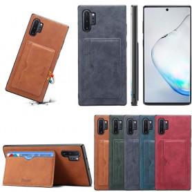 Denior läder kort skal Samsung Galaxy Note 10 Plus (N975F)