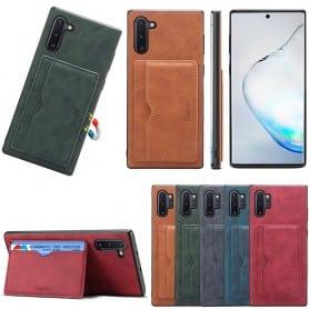Denior läder kort skal Samsung Galaxy Note 10 (SM-N970F)