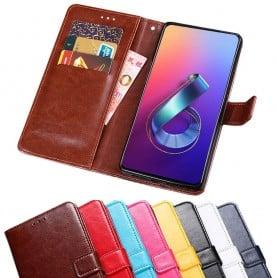 Mobilplånbok 3-kort Asus Zenfone 6 (ZS630KL)