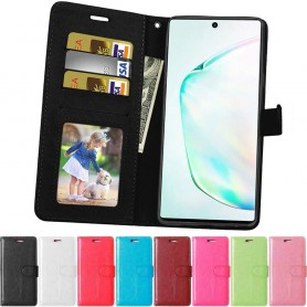3-kort Mobilplånbok Samsung Galaxy Note 10 Plus (SM-N975F)